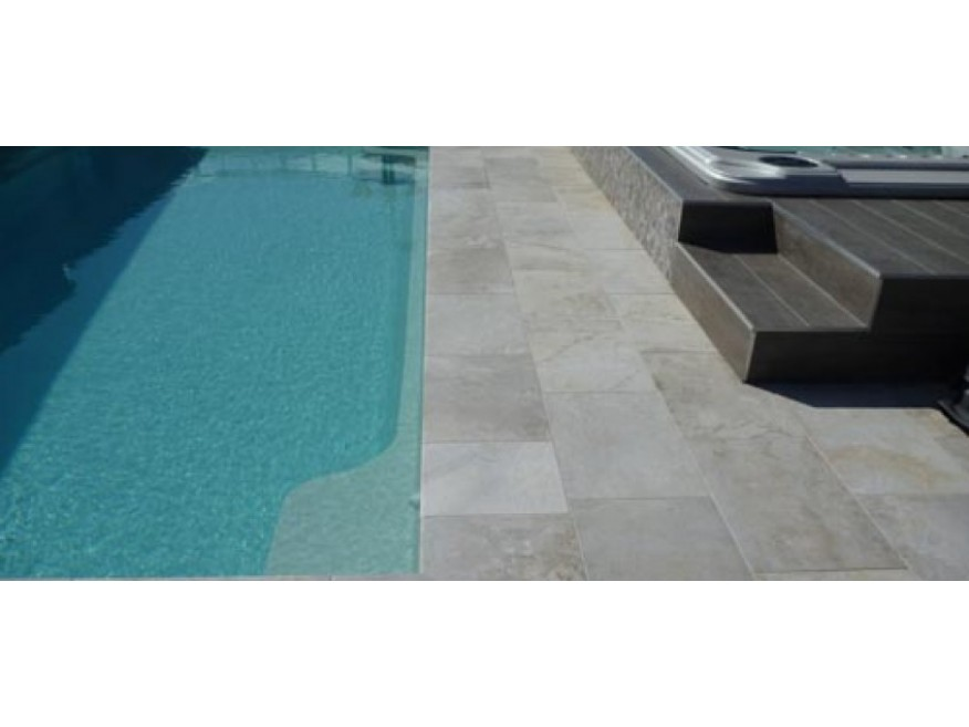 Silver Royale Limestone Outdoor Pavers