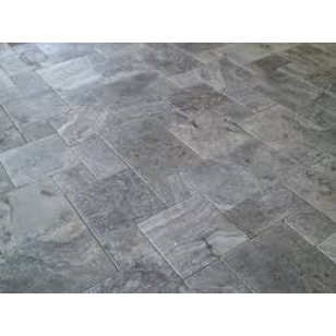 Silver Travertine Outdoor Pavers